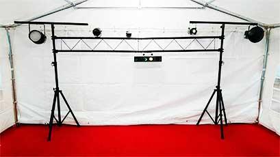 Location de matériel de sonorisation et jeux de lumières pour tous vos événements dans le Morbihan (56), secteur de Vannes , Ouest Loc Réception
