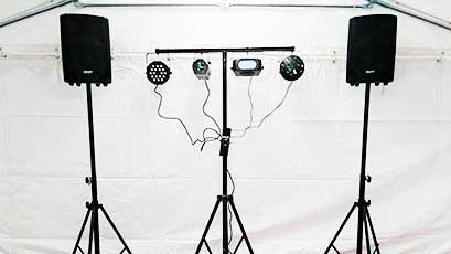 Location de matériel de sonorisation et jeux de lumières pour tous vos événements dans le Morbihan (56), secteur de Plumergat, Ouest Loc Réception