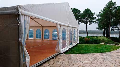 Location de chapiteaux, barnum, tente de réception et tente pliante dans le morbihan (56), aux alentours de Vannes, Lorient, Auray, Quiberon, Carnac