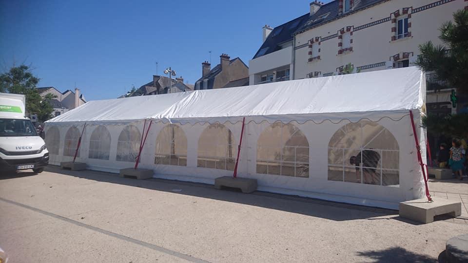 location de tente de réception en bretagne